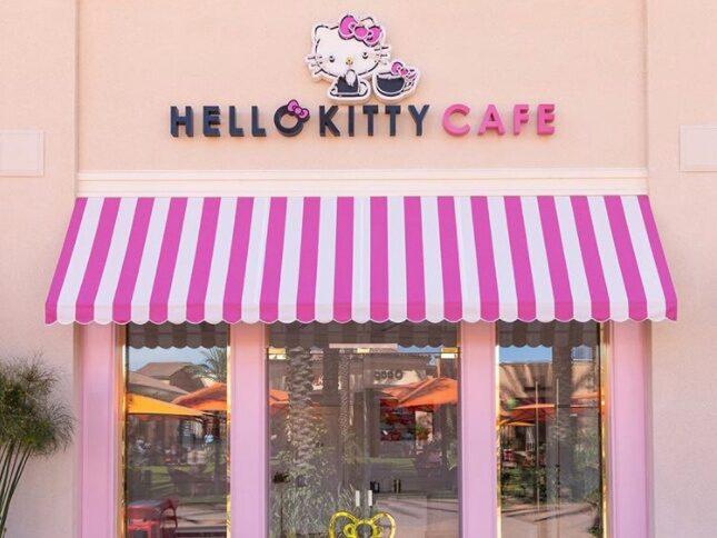 Nu öppnar det första kaféet i USA där allt handlar om den lilla katten.