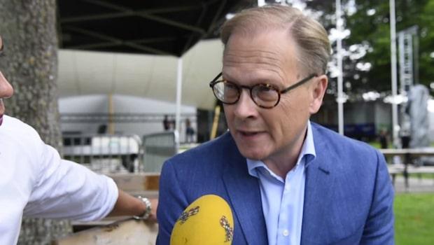 Mats Knutson på plats i Almedalen