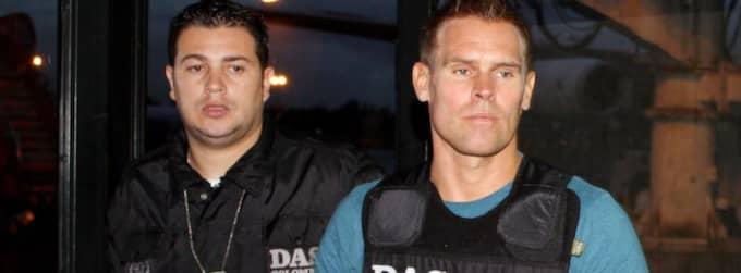 Huvudmannen Jonas Oredsson, 39 (till höger) misstänks ha tvättat pengarna från kokaismugglingen.