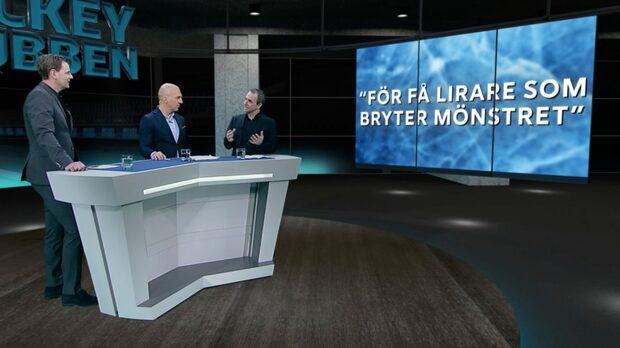 """Hockeyklubben – Nyströms rubrik: """"Farligt för hockeyn"""""""
