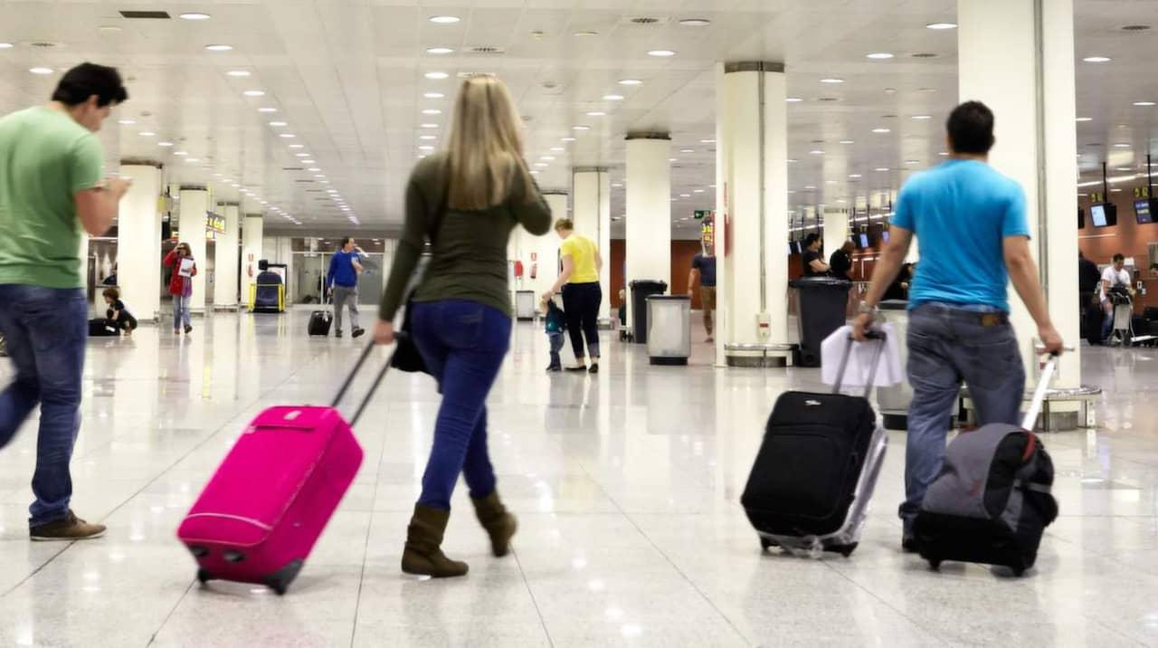 var hämtar man sin väska på flygplatsen