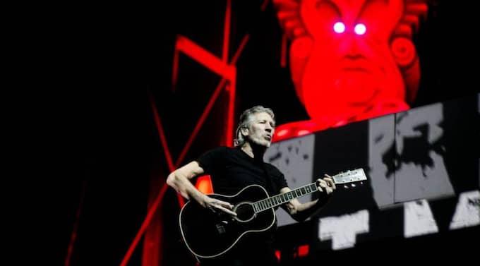 """Roger Waters bjuder på """"extra allt"""". Foto: Lennart Rehnman"""