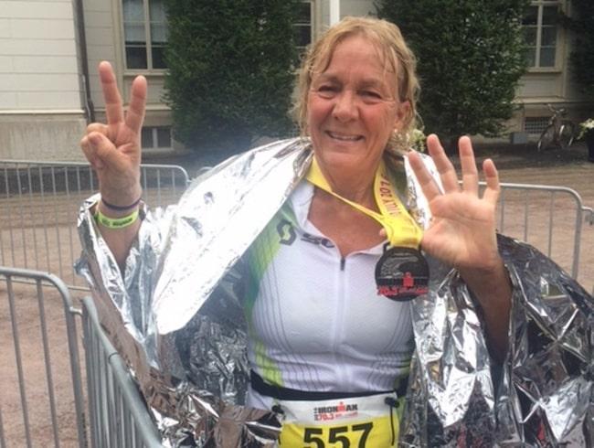 <span>Den 10 juli 2016 ställde sig Ann-Marie på startlinjen, redo att genomföra en halv Ironman som enda kvinna i sin åldersgrupp.<br></span>