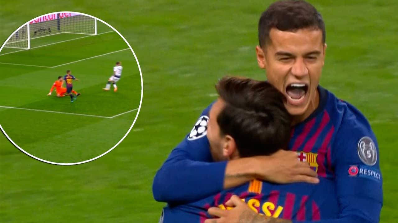 Messi hyllas stort efter nytt drommal