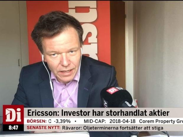 """Petersson om Investors köp i Ericsson: """"Kunde köpt ännu mer aktier"""""""