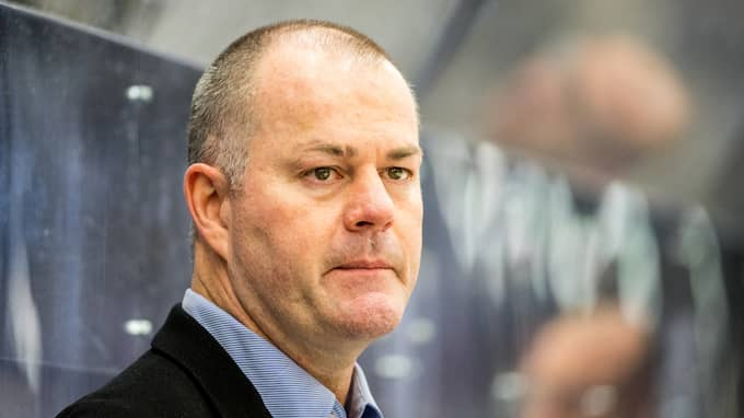 Joby Messier, tränare för IK Pantern. Foto: MIKAEL BENGTSSON / BILDBYRÅN