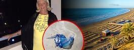 Svenska Solveig varnar turister på Kanarieöarna efter upptäckten på stranden