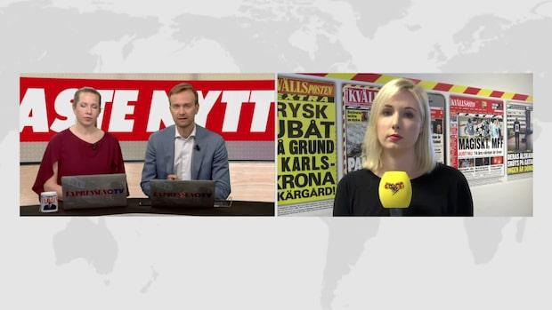 Här är morgonens nyheter från Sydsverige 21 maj