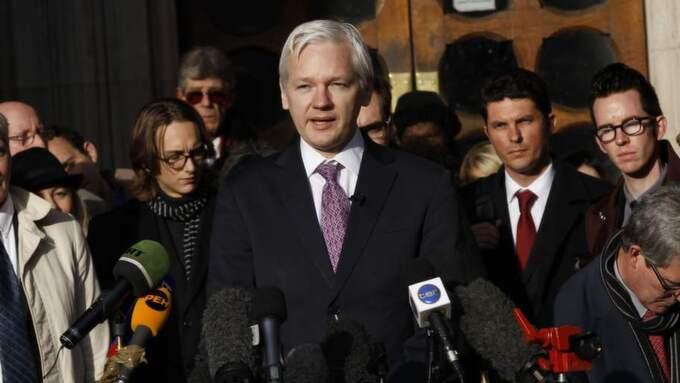 Den våldtäktsmisstänkte Julian Assange, 43, kan om några veckor vara en fri man. Foto: Stefan Wermuth