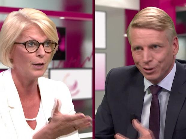 Elisabeth Svantesson (M) och Per Bolund (MP) ryker ihop om friåret