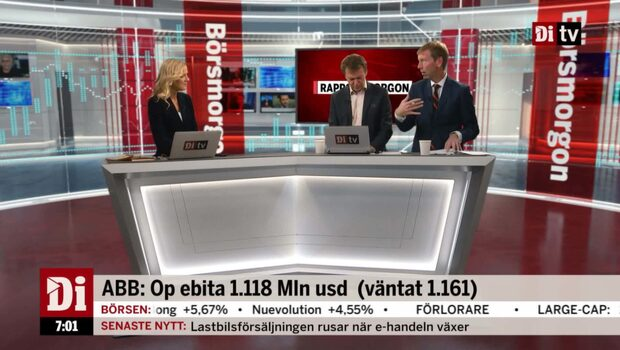 "Wellfelt om ABB: ""Något i underkant"""