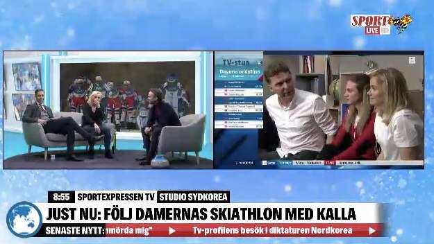 SportExpressenTV sänder dygnet runt under OS.
