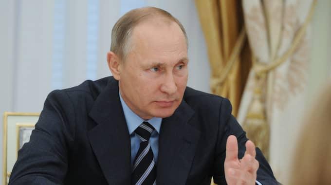 Vladimir Putin. Foto: Mikhail Klimentyev / AP TT NYHETSBYRÅN