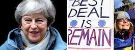 JUST NU: Theresa May ger besked om plan B för Brexit