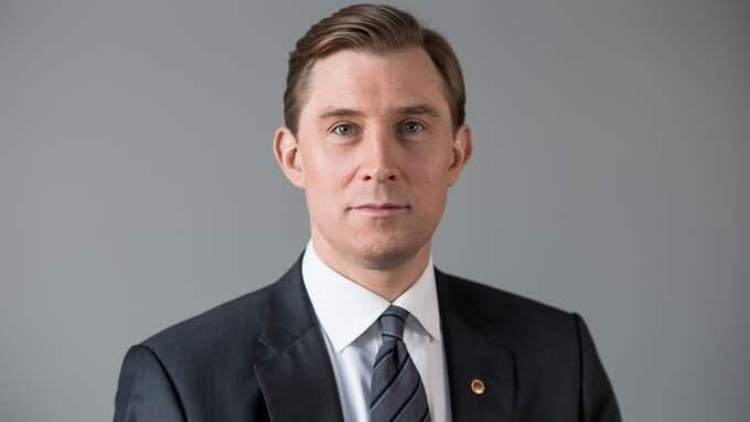 Henrik Fritzon (S), regionstyrelsens ordförande i Region Skåne. Foto: PER WILKENS