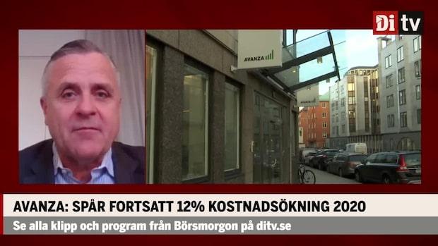 """Avanzas vd om rekordrapporten: """"Finns inget att vara besviken över"""""""