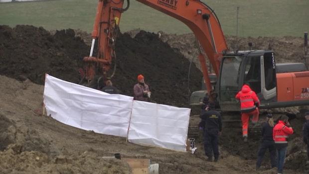 Huvudlös kvinna hittad i lergrav