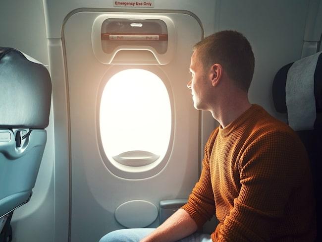 Tipset: att välja en sittplats på första raden av en sektion eller vid nödutgångarna.