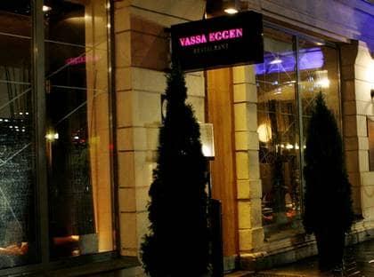 MIDDAG. Bland fakturorna finns en middag som hölls i maj 2005 på restaurang Vassa Eggen i Stockholm. Foto: HELEN EDVALL