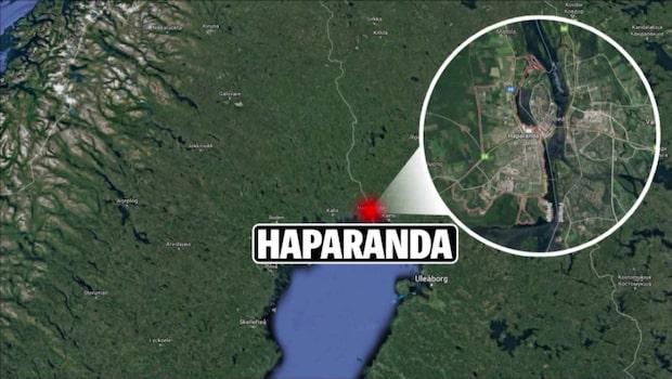 Pojke skjuten i benet av polis i Haparanda
