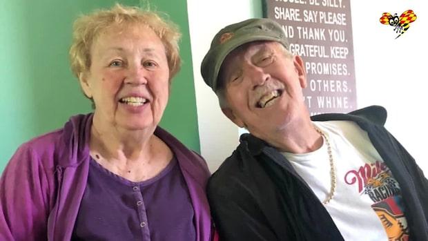 Coronasmittade paret avled med en minut isär