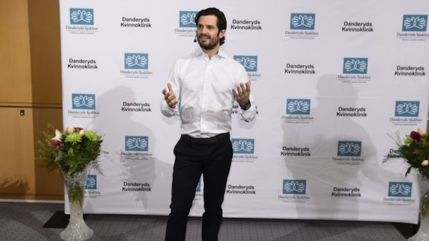 Sverige har fått en ny prins - Carl Philip och Sofia har blivit föräldrar