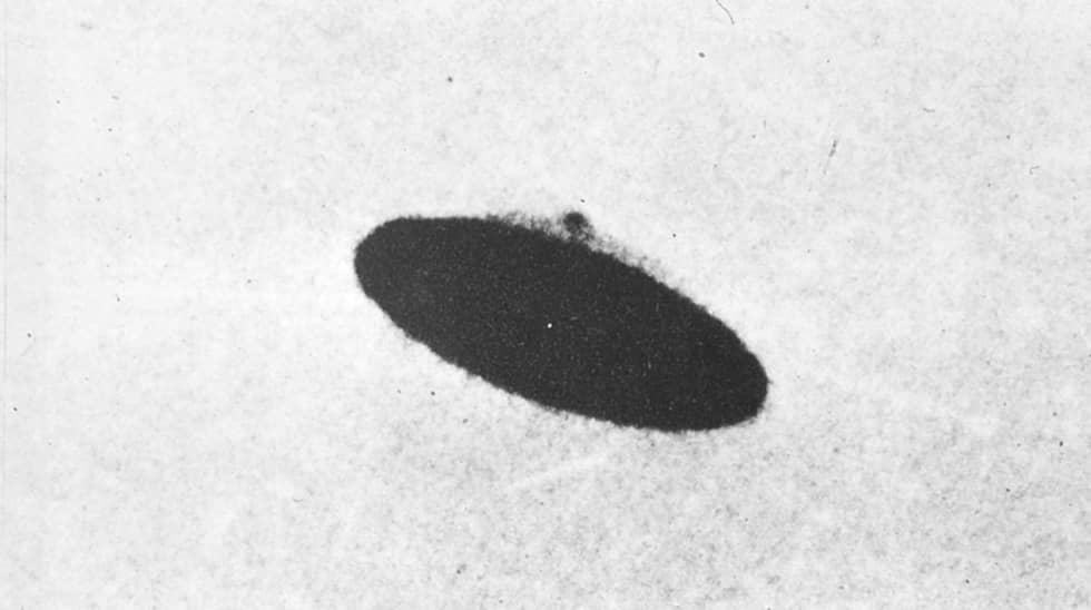 Den 11 maj 1950 får paret Evelyn och Paul Trent i McMinnville, Oregon, syn på något ovanligt. Uppe i skyn svävar ett metalliskt skivformat föremål. Paul tar två fotografier av föremålet – och bilderna har därefter gäckat och fascinerat människor i hela världen.
