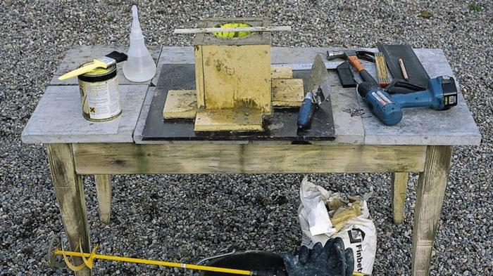 betong med frigolit