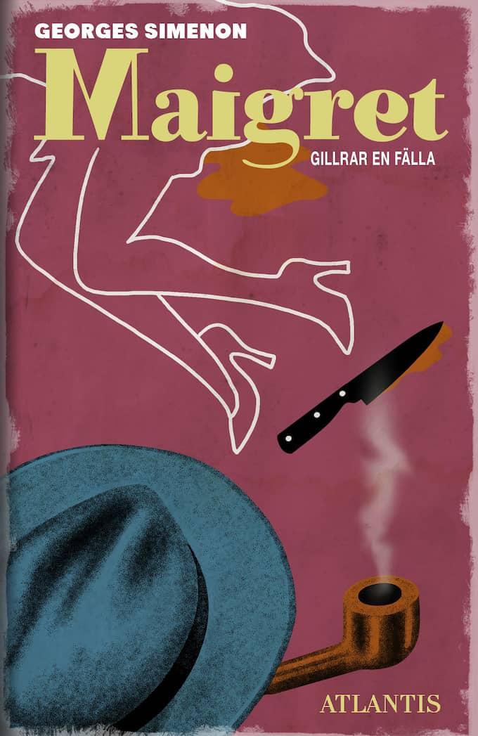 """""""Maigret gillrar en fälla""""."""
