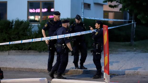 "Polisen: ""Ingen gripen"" - skottlossning i Jakobsberg"