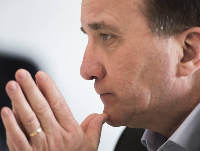 Stefan Löfven säger nu att han lovar att möta Vänsterpartiet om vinster i välfärden. Foto: Nora Lorek