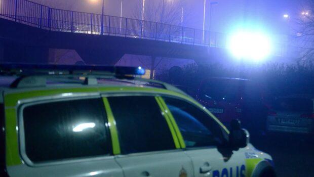 Detonation i Rosengård i Malmö – fasad skadad
