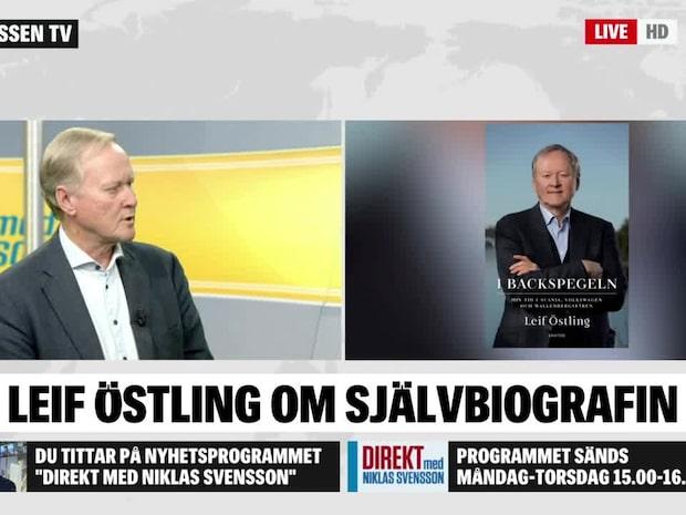 """Leif Östling om sina memoarer """"I backspegeln"""""""
