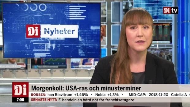 Di Morgonkoll 21 november - Danske Bank stäms av utländska aktieägare