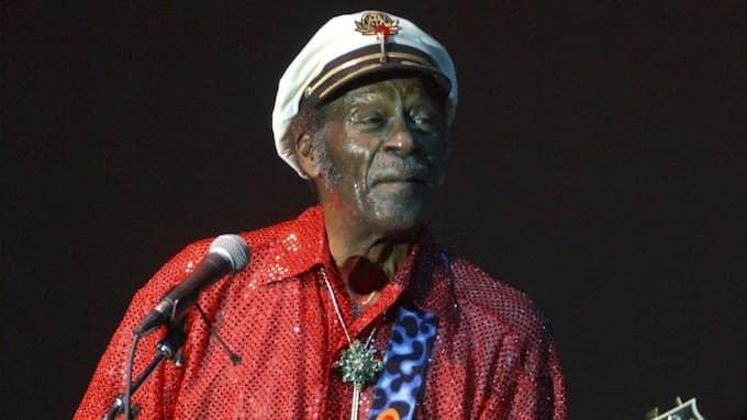 Rocklegendaren Chuck Berry blev 90 år gammal. Foto: Douglas Healey / POLARIS POLARIS IMAGES