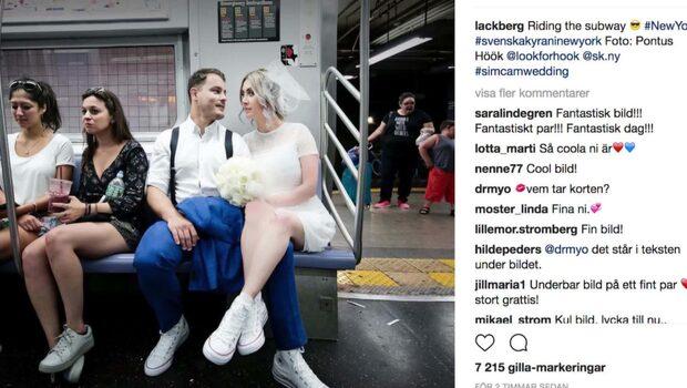 Läckberg och Skölds kärleksmys i New York