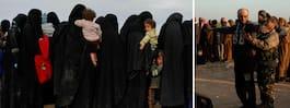 """IS-kvinnans pappa: """"Varje dag begraver de barn"""""""