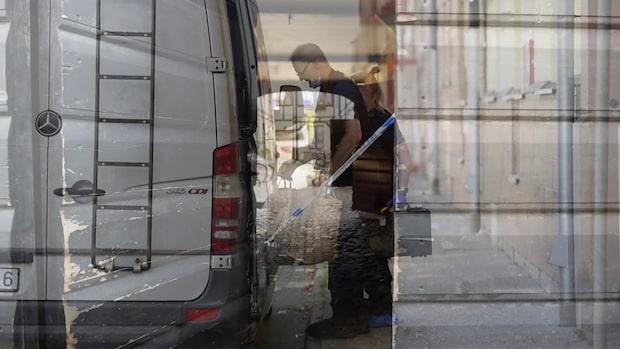 Naken man greps efter misstänka knivattacken i Kristianstad