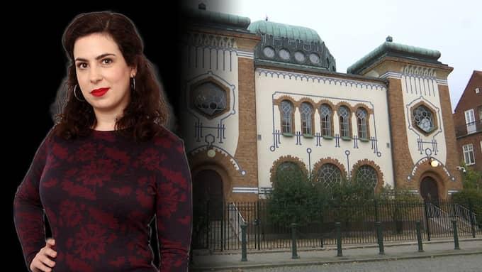 Judiska byggnader i Sverige måste skyddas med många medel. Foto: Caroline Larsson/Kvällsposten