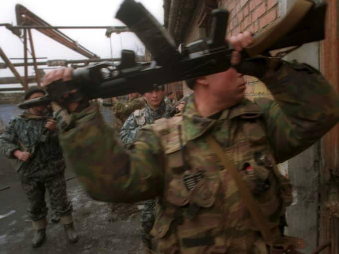 Bild från ett krig som ingen vet anledningen till. Foto: Vladimir Velengurin