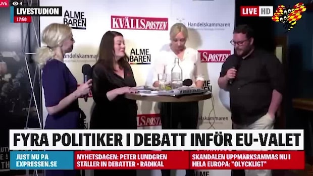 "Politikerns kritik – efter ""hånskrattet"" i debatten"