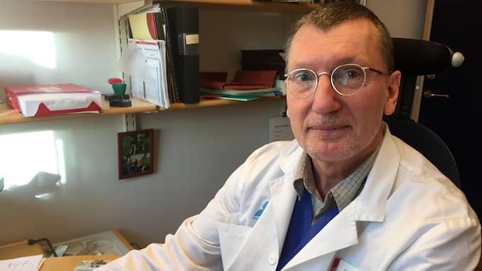 Barnläkaren Mats Reimer menar att Sanna Ehdin ljuger när hon påstår att produkterna kan hindra eller behandla sjukdom. Foto: EVELINA NEDLUND