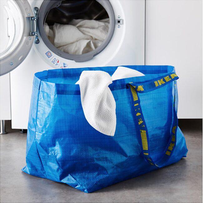<span>Den klassiska Ikea-kassen kan användas till så mycket mer än att förvara tvätten i.</span>