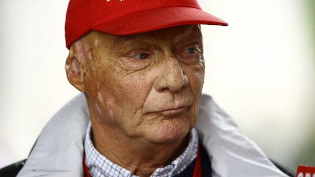 F1-legendaren Niki Lauda död i natt