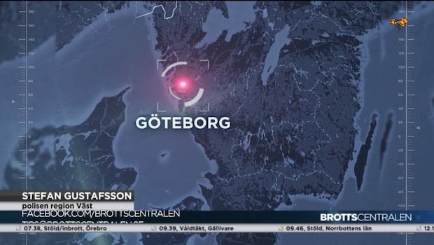 Man skadad i knivattack i Göteborg