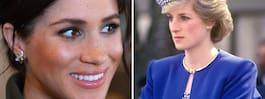 Meghans fina hyllning till prinsessan Diana