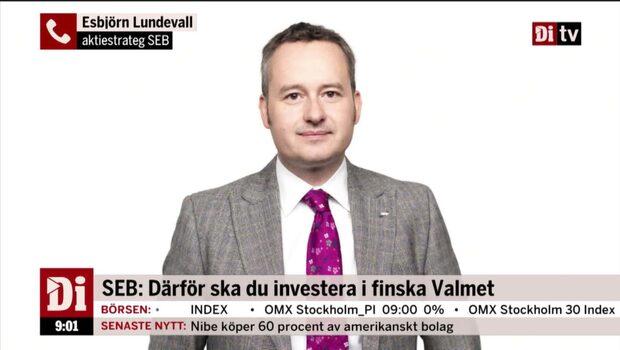 SEB: Därför ska du investera i Valmet