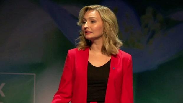 """Karolina Skoglund om KD:s migrationspolitik: """"Väldigt splittrat"""""""