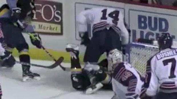 Brutalt överfall i nordamerikanska ECHL