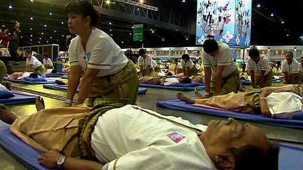 Nytt Guinnessrekord i thaimassage